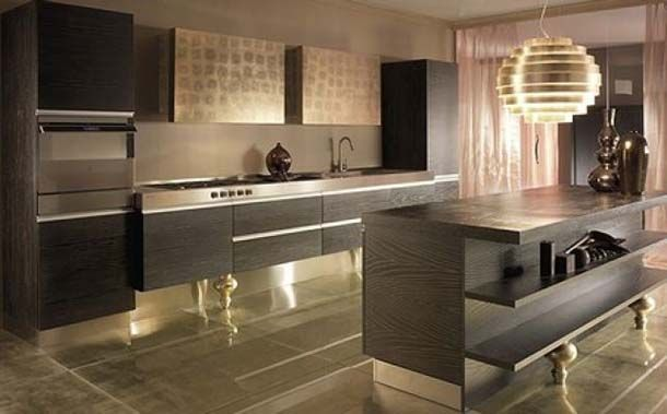 Risultati immagini per cucina glamour