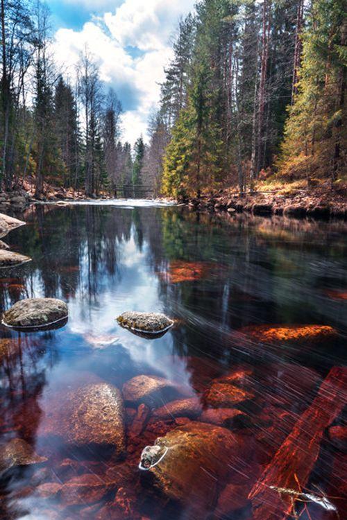 Palsankoski - Finland by Mehmet Eralp                                                                                                                                                     More