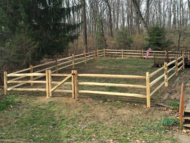 how to build a 4 rail split cedar fence