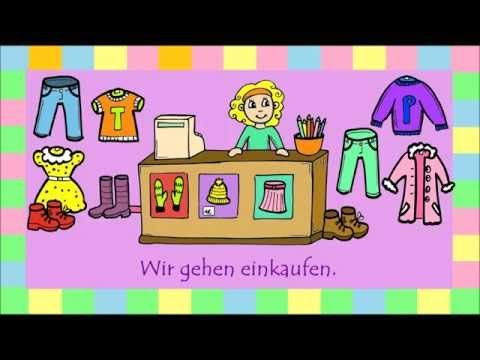 Learn German: Verb kaufen (to buy) + accusative. - YouTube