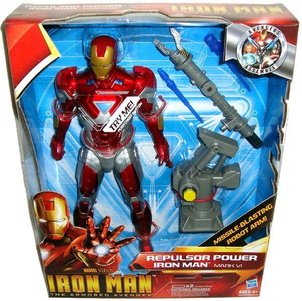 Repulsor Power Mark VI 10 inch Action Figure Marvel Studios Toy
