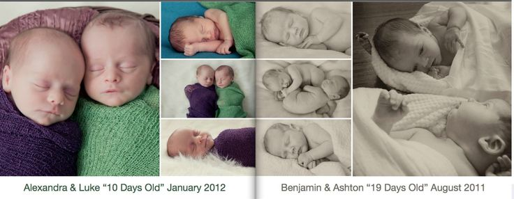 An example of the page spread in the Twins Book www.zedphotography.com.au