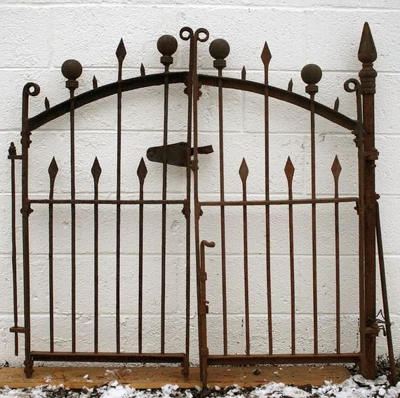 This Item Is Unavailable Etsy Vintage Iron Gate Post Iron Gate