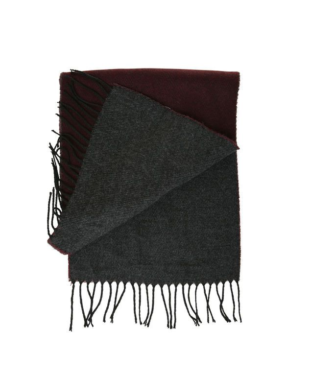 Solid Double Faced Oblong Scarf | DISTILLERY