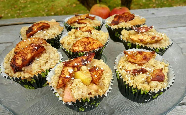 Det er så herlig når norske epler er i sesong enten man har i hagen selv eller m&arin...