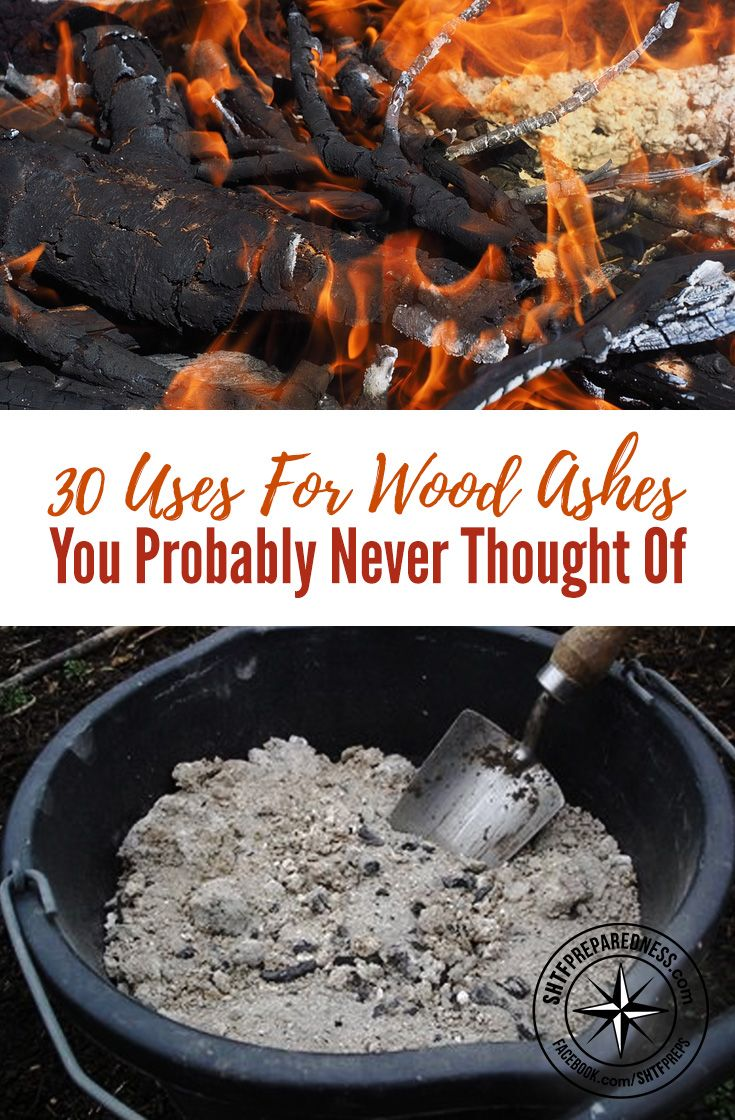 30 Uses For Wood Ashes You Probably Never Thought Of — The value of wood ash depends on the type of wood you burn. As a general rule, hardwoods such as oak weigh more per cord and yield more ash per pound of wood burned. Hardwood ash contains a higher percentage of nutrients than ash from softwoods such as Douglas-fir or pine.