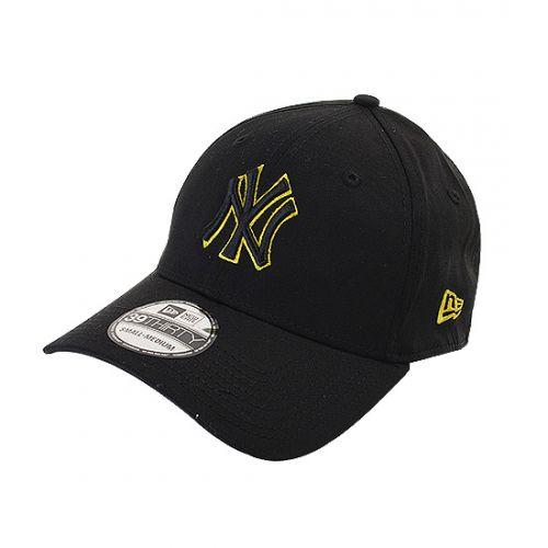 Casquette New Era noire avec Griffre New York à prix réduit sur Allez Discount