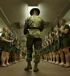 United States Marine Corps Drill Instructors | Get Them Started as a US Marine Drill Instructor - USMilitary.com