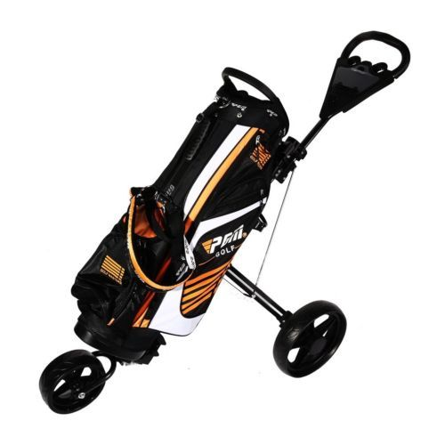 Brand new 3 #wheel #trolley golf cart with #steering front #wheel golf #trolley,  View more on the LINK: 	http://www.zeppy.io/product/gb/2/291910474133/