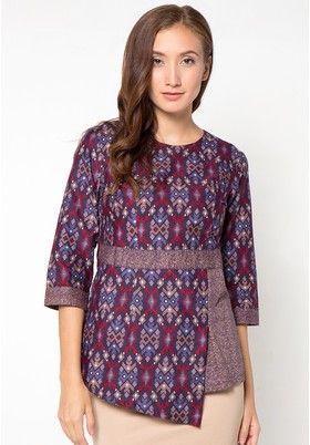 Batik Wanita - Jual Baju Batik Wanita | ZALORA Indonesia