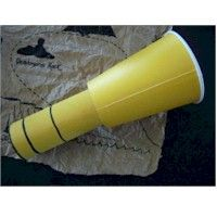 Spyglass Craft - made out of a paper cup and tp roll every little pirate needs their own spyglass.