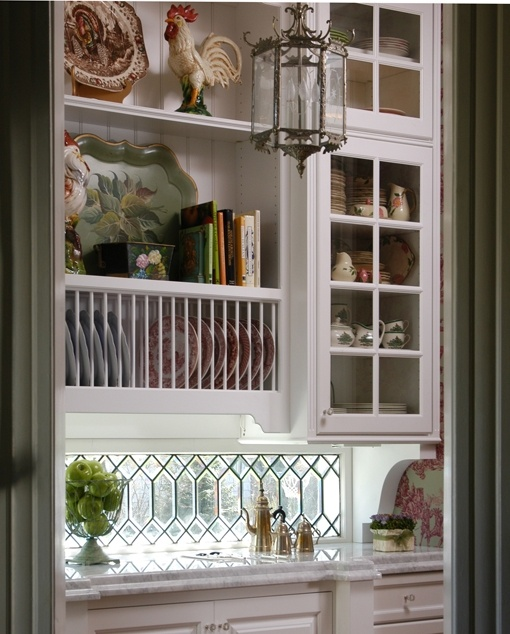 Vignette Design A Kitchen Tour: Love These Cabinets And The Darling