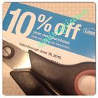~LOWE'S Home Improvement coupon for 10% off next purchase (EX June 15, 2015)~ - http://couponpinners.com/coupons/lowes-home-improvement-coupon-for-10-off-next-purchase-ex-june-15-2015/