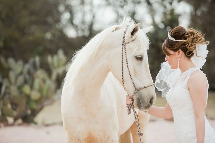 bride and white horse, magical wedding, unicorn, wedding horse, special wedding horse, equine amazeballs, rancholascascadas