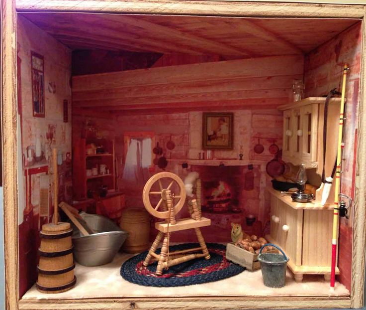 1000+ Ideas About Cabin Dollhouse On Pinterest
