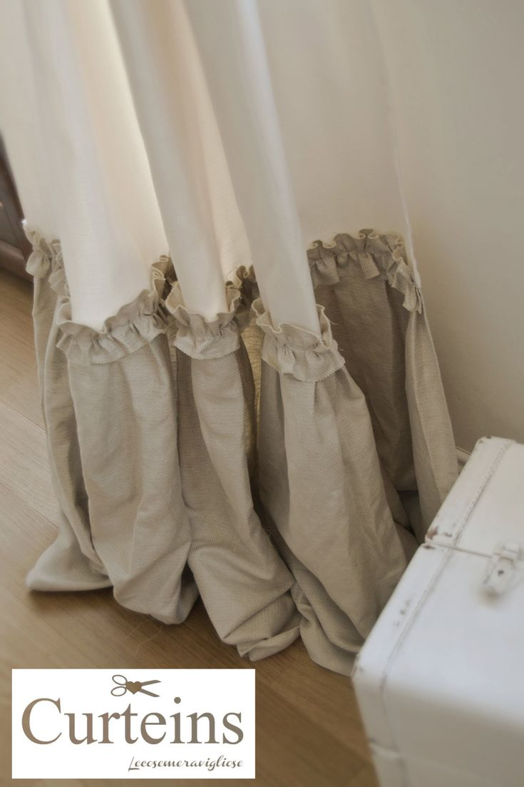 Oltre 25 fantastiche idee su tende per finestra su pinterest for Tende shabby chic