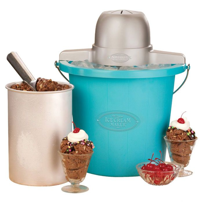 retro electric ice cream maker