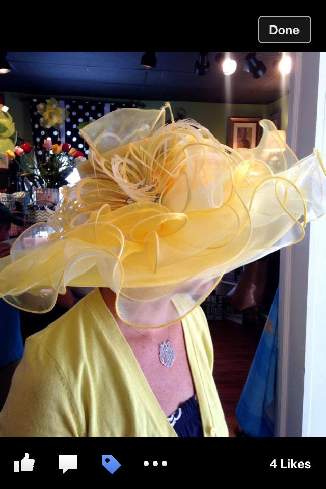 Derby hat from 2014 Prickly Pear Boutique in Middletown KY