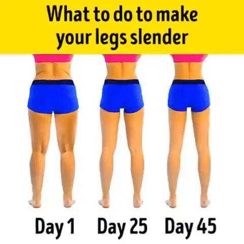 Simple Exercises to Slim Down Your Legs💪 #Gymshark #Gym #Fitness #Exercise #F…