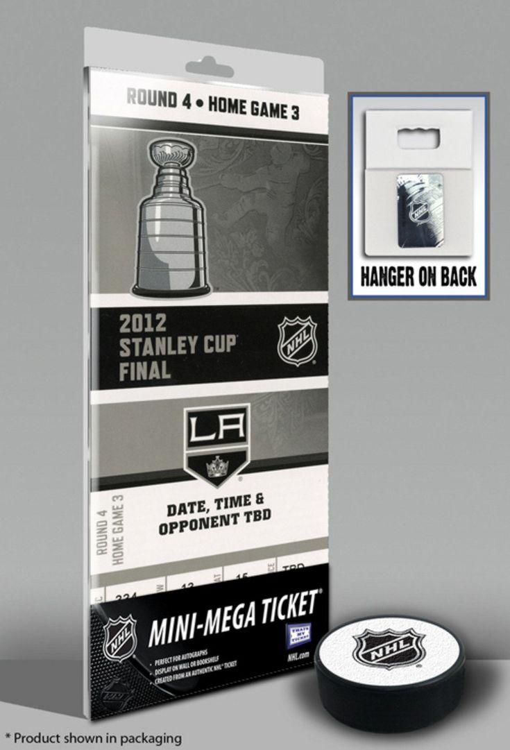Los Angeles Kings 2012 Stanley Cup Mini-Mega Ticket