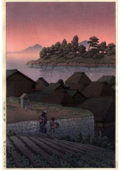 Hasui Kawase - Amakusa Honryo 1937 #Hasui #Kawase