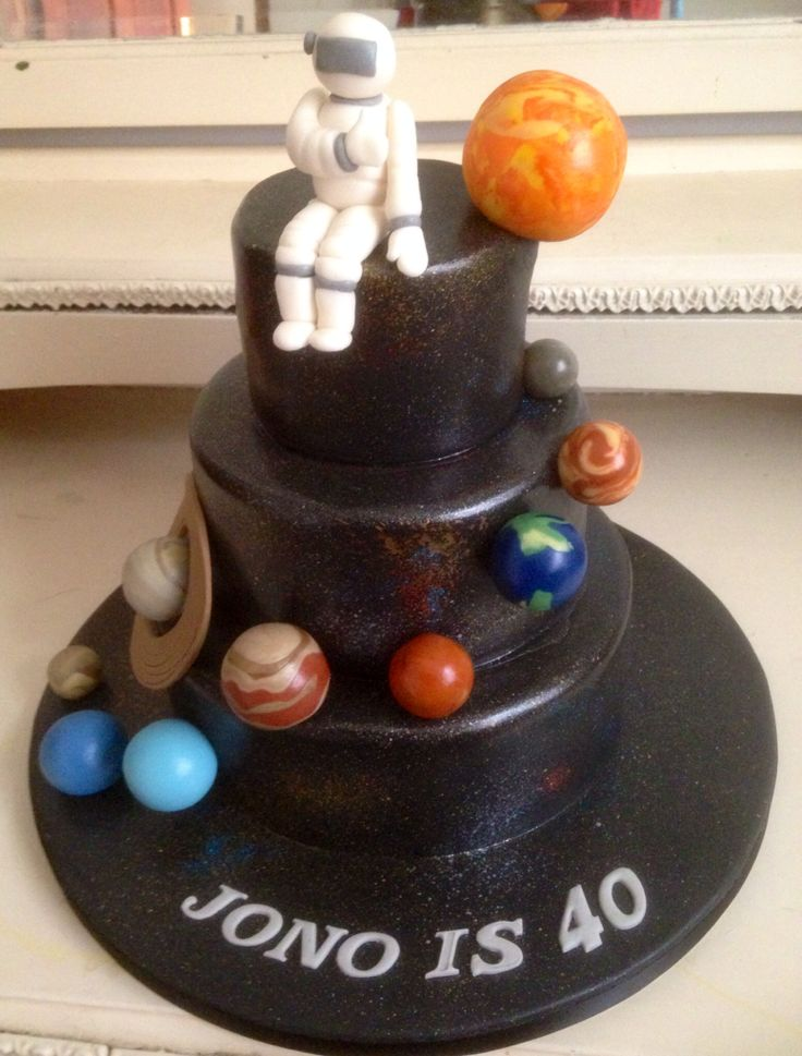 Solar system cake by Mrs Crumbs the Baker