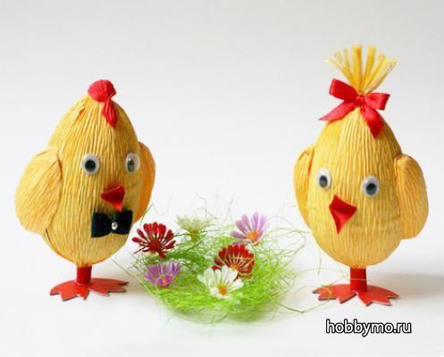 Цыпленок из киндера своими руками