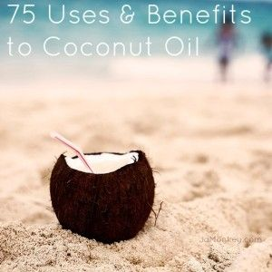 75 uses for coconut oil
