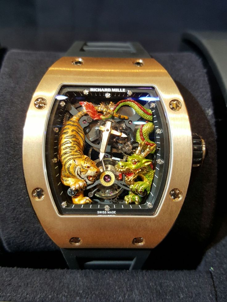 Richard Mille [NEW+RARE] RM 51-01 Tourbillon Tiger & Dragon Michelle Yeoh Asia Edition, Limited Ed to 50 Pieces Only, at HK$5,380,000.