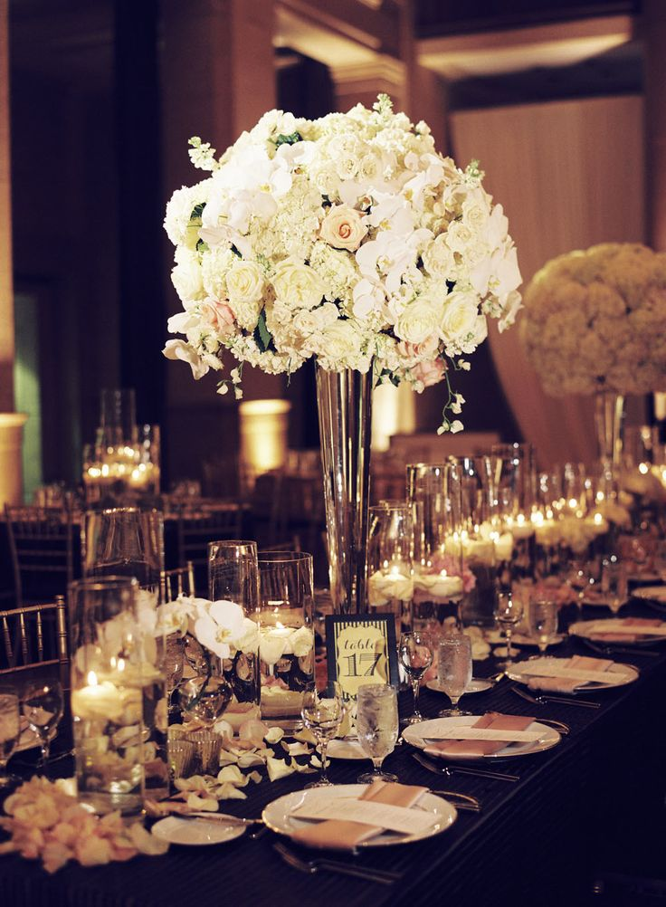 Ideas about tall centerpiece on pinterest weddings