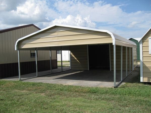 11 best metal carports steel carports images on pinterest for Carport shop combo
