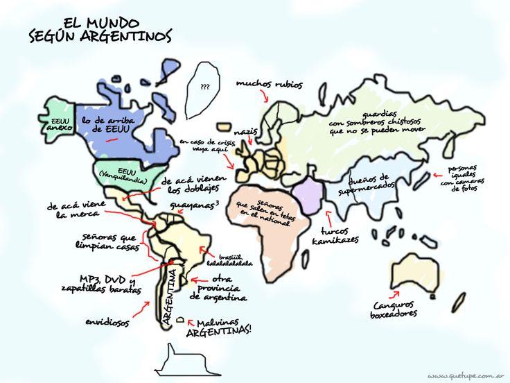 cómo vemos el mundo los argentinos