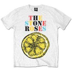 Stone Roses Men's Tee: Logo Lemon Multicolour