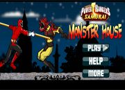 Power Rangers Monster House   juegos de pelea - jugar lucha