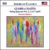 Gloria Coates: String Quartets Nos. 2, 3, 4, 7 and 8 [CD]