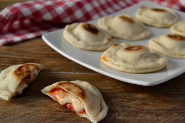 ricetta pizzette in padella| Dolce e Salato di Miky