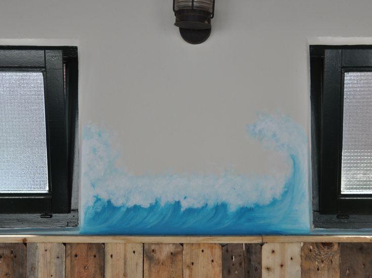 2016 In opdracht. Acryl op muur.  http://muralmania.nl/blog/?page_id=1839