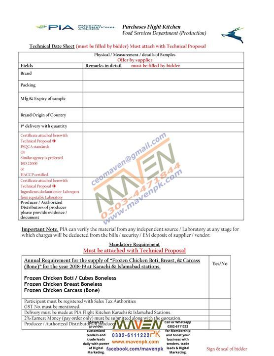 Untitled Technical Proposal Proposal Tenders