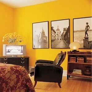 Yellow wall decor  #decor