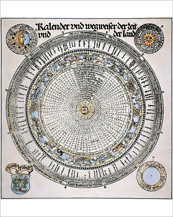 Print Of Roman Julian Calendar Print Making Poster Prints Print