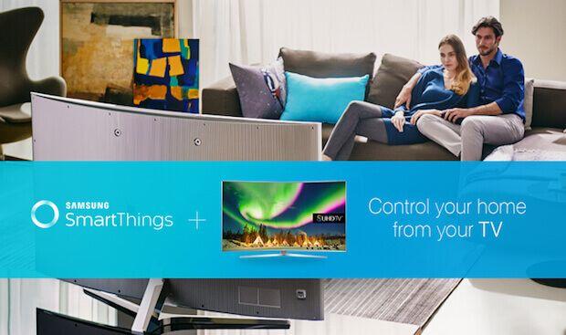 Die Samsung SUHD TVs 2016 als SmartThings Smart Home Hub  Die Samsung SUHD TVs (Reihe: 7, 8 und 9) kommen mit einem integrierten SmartThings Hub, wodurch sich der Smart TV nahtlos integrieren lässt.  #smarthome #samsung #tech #smart #tv #hausautomation #connected