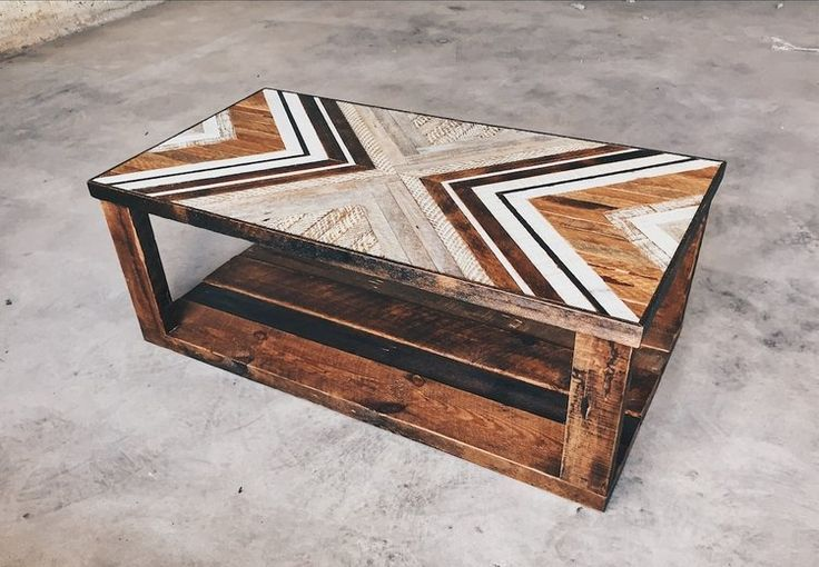 Kaitie D'Amico – Coffee Table w/ reclaimed woo…