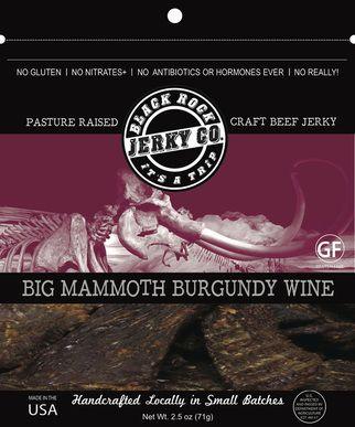 Big Mammoth Burgundy Wine Jerky