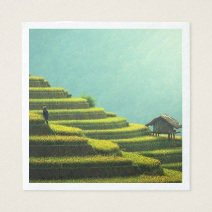 China agriculture rice harvest paper napkin - kitchen gifts diy ideas decor special unique individual customized