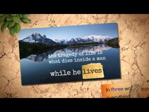 Quotes About Life (Inspirational Video):    Some inspiring quotes about life , share this video with somebody you care.
