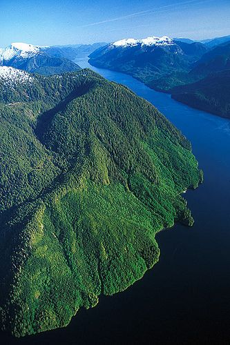 Inside Passage, West Coast of B.C., Canada