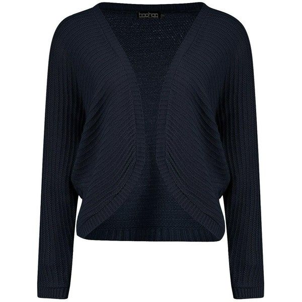 Boohoo Petite Annie Batwing Cardigan | Boohoo ($24) ❤ liked on Polyvore featuring tops, cardigans, batwing cardigan, petite cardigans, cardigan top, blue top and blue cardigan