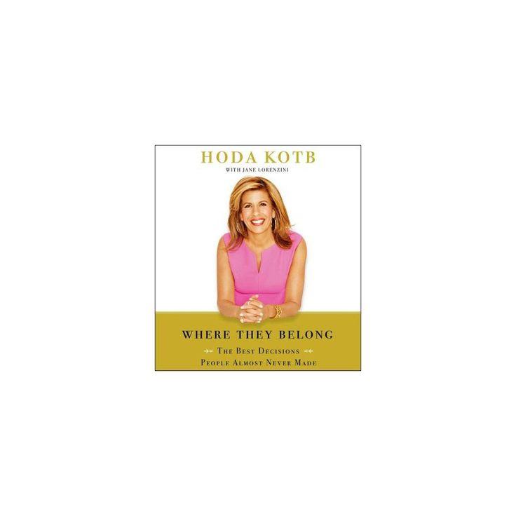 Where We Belong (Unabridged) (Compact Disc)