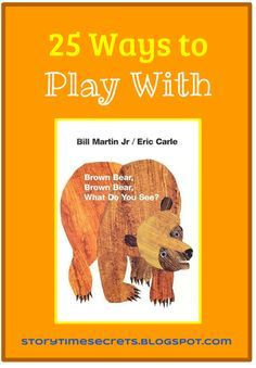 Pictures By Eric Carle The Brown Bear What Do You See Look Back At Each Other All Parade Across Pages Of This Delightful Book