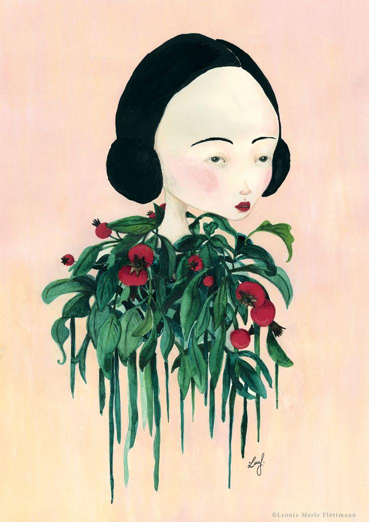 La fleurfille  - Atelier Leo la Douce (illustration by Leonie Merle Flöttmann)